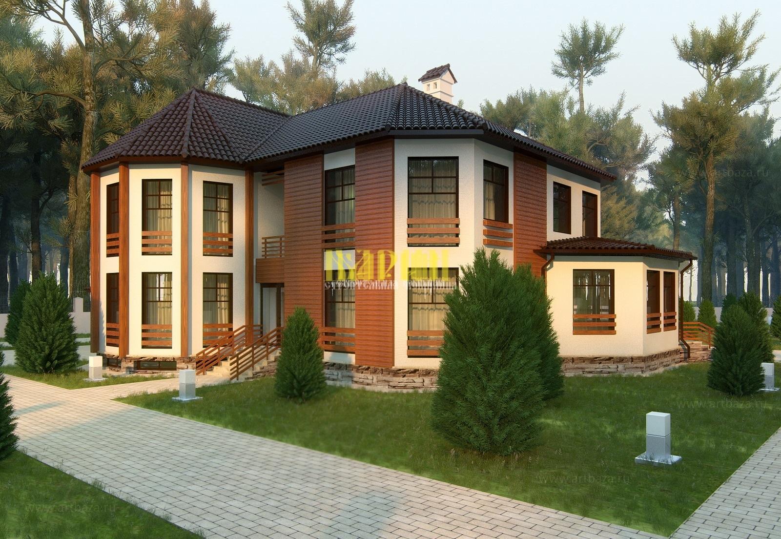 Дома свыше 250 м²