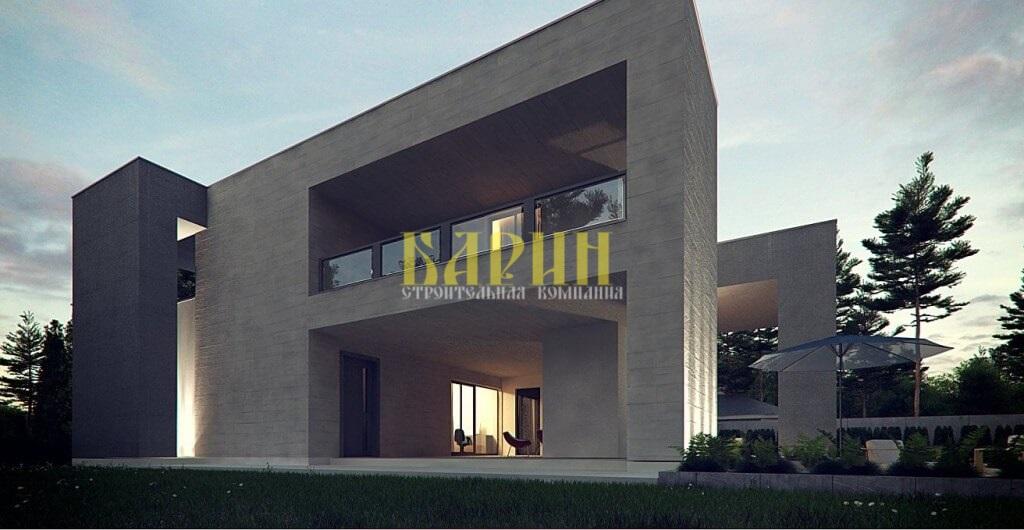 Строительство дома из СИП панели | Барин 312