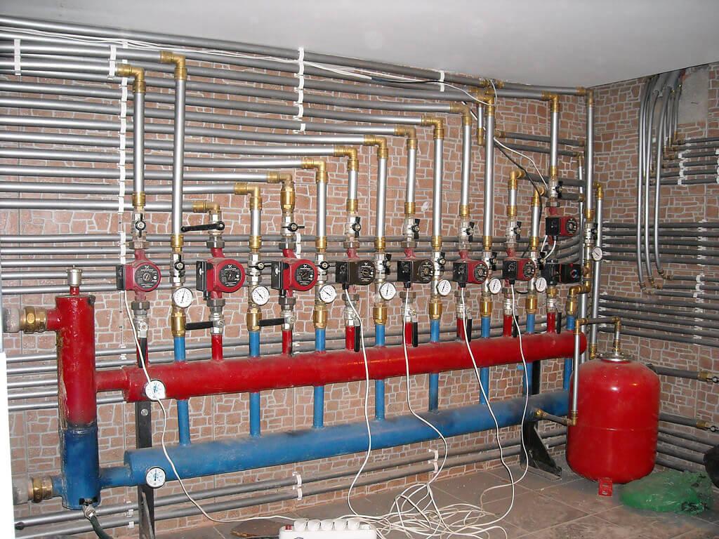 Монтаж демонтаж батарей отопления
