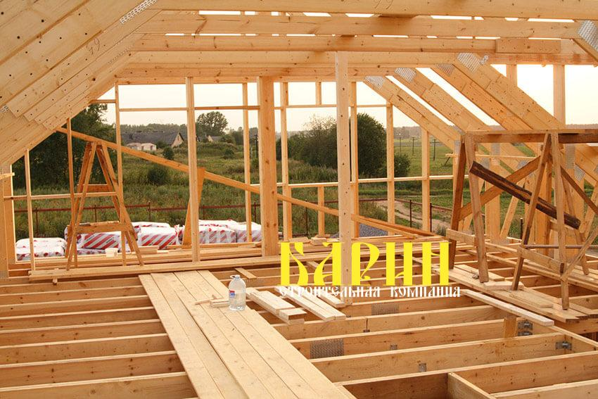 Как построить мансарду на доме