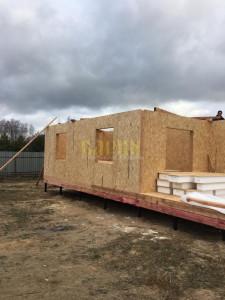 Строительство дома по индивидуальному проекту