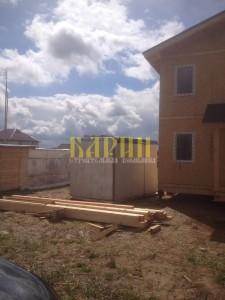 Строительство дома  126 м2