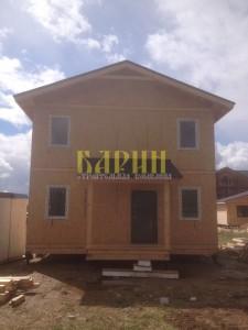 Строительство дома  126 м2 по индивидуальному проекту из СИП