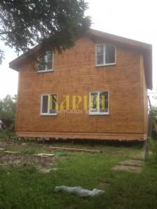 Строительство дома по индивидуальному проекту Дмитровского р-на