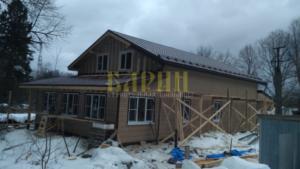 каркасные дома по индивидуальному проекту