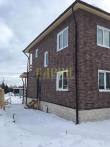 строительство дома в деревне Клишева