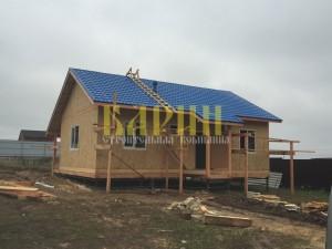 Строительство дома из СИП панелей Барин 81