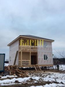 дом из бруса выставочный образец